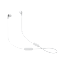 JBL TUNE 215BT - White - Wireless Earbud headphones - Hero