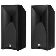 Studio 530 - Black - Professional-quality 125-watt Bookshelf Speakers - Hero