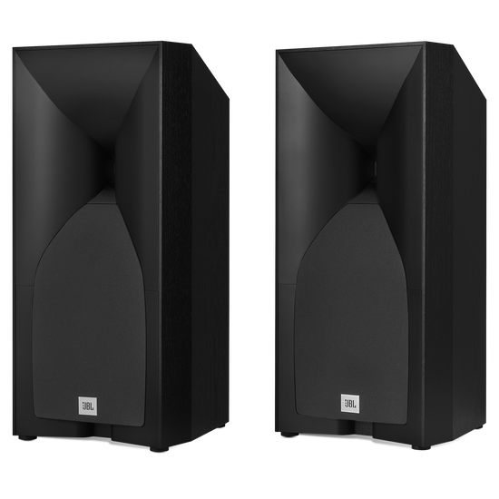 Studio 530 - Black - Professional-quality 125-watt Bookshelf Speakers - Hero
