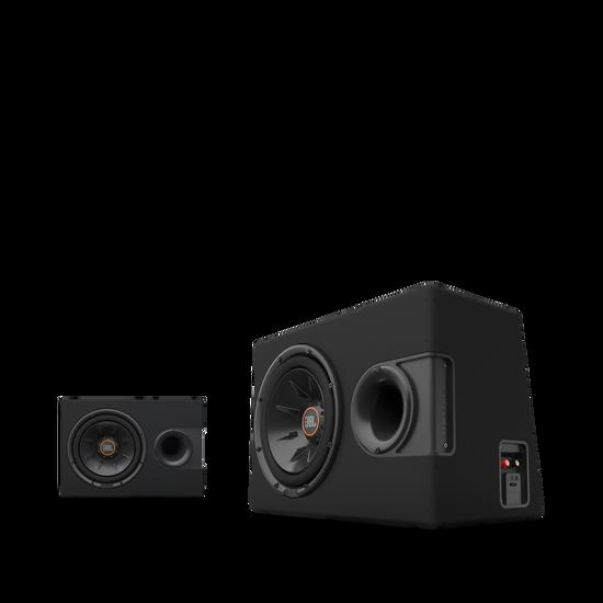 "S2-1024SS - Black - 10"" (250mm) Slipstream ported enclosure - Hero"