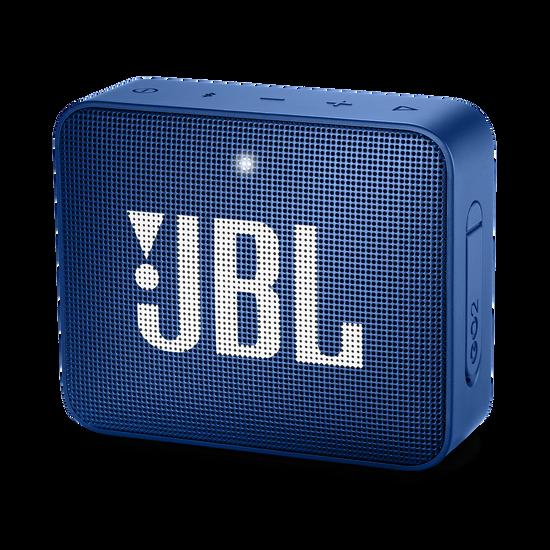 JBL GO 2 - Blue - Portable Bluetooth speaker - Hero