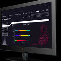 JBL QuantumENGINE - Black - PC software suite for customization - Hero