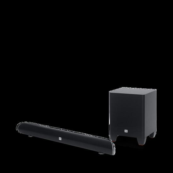 Cinema SB250 - Black - Wireless Bluetooth Home Speaker System - Hero