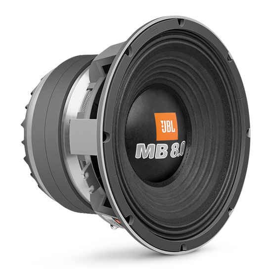 Woofer JBL 12MB8.0 - Black - Hero