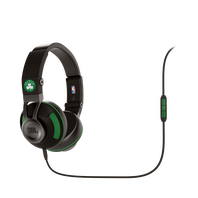 Synchros S300 NBA Edition - Celtics - Green - Stylish Synchros on-ear stereo headphone - Hero
