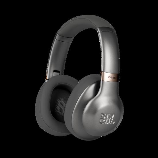 JBL EVEREST™ 710 - Gun Metal - Wireless Over-ear headphones - Hero