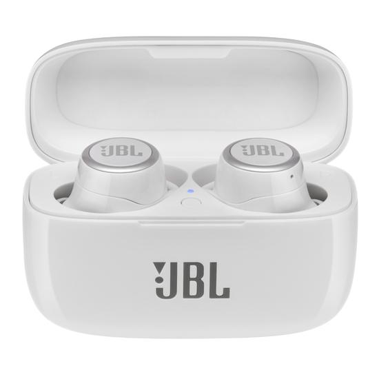 JBL Live 300TWS - White Gloss - True wireless in-ear headphones with Smart Ambient - Hero