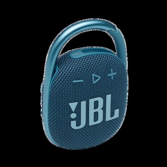 JBL CLIP 4 - Blue - Ultra-portable Waterproof Speaker - Hero