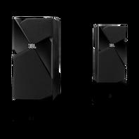 Studio 130 - Black - Stylish & Compact 2-way Bookshelf Speakers - Hero
