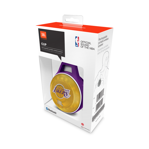 JBL Clip NBA Edition - Lakers - What's in the Box