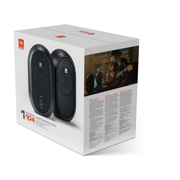 JBL 104-BT (Pair) - What's in the Box