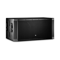 "JBL SRX828S - Black - 18"" Dual Passive Subwoofer System - Hero"