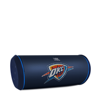 JBL Flip 2 NBA Edition - Thunder - Blue - Portable Bluetooth Speaker with Microphone & USB Charging - Hero