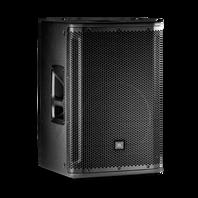 """JBL SRX812P - Black - 12"""" Two-Way Bass Reflex Self-Powered System - Hero"""