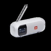 JBL Tuner 2 - White - Portable DAB/DAB+/FM radio with Bluetooth - Hero