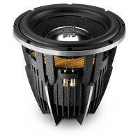 W12GTI II - Black - 12 inch Differential Drive Design Subwoofer - Hero