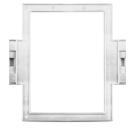 RIF6 - White - In-Wall Speaker Frames for SoundPoint SP6 & HTI6 Speakers - Hero