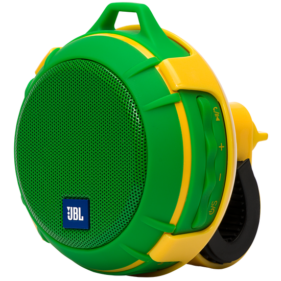 JBL Wind - Green-Yellow - 2 in 1 - On the road and on the go speaker - Hero