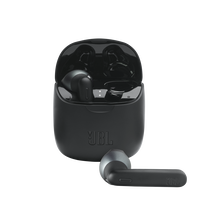 JBL TUNE 225TWS - Black - True wireless earbud headphones - Hero