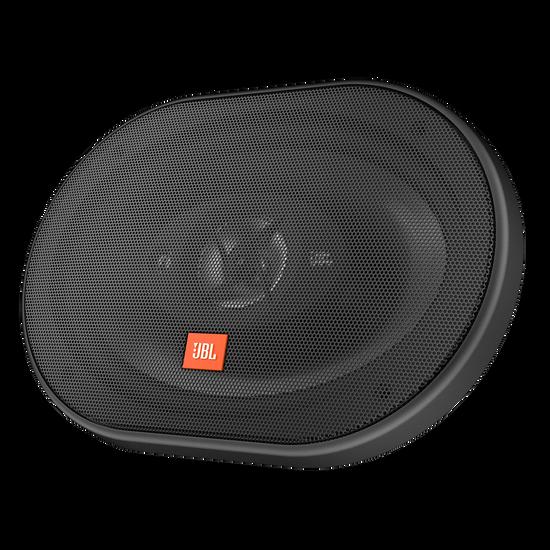 """STAGE 9603 - Black - 6"""" x 9"""" (152mm x 229mm) three-way car speakers, 210W - Hero"""