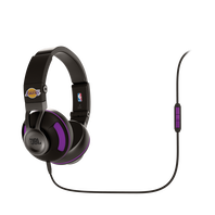 Synchros S300 NBA Edition - Lakers - Purple - Stylish Synchros on-ear stereo headphone - Hero