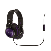 Synchros S500 A.R. Rahman Edition - Black - Powered Over-Ear Headphones with LiveStage - Hero