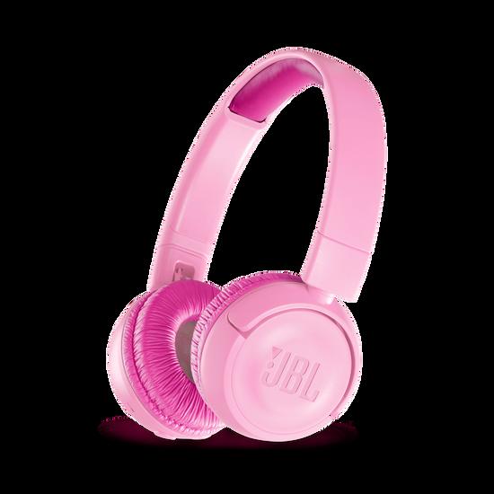 JBL JR300BT - Punky Pink - Kids Wireless on-ear headphones - Hero