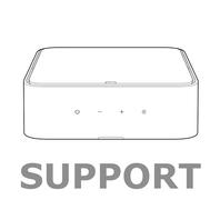 ON TIME 400IHD - Black - High Performance Loudspeaker Dock for iPod with HD Radio - Hero
