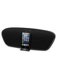 JBL OnBeat Venue Lightning - Black - Wireless iPhone 4 and iPad speaker dock - Hero