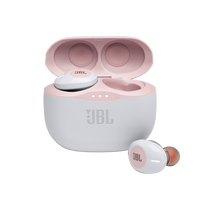 JBL Tune 125TWS - Pink - True wireless in-ear headphones - Hero