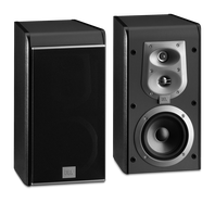 ES 20 - Black - 3-Way, 5 inch (130mm) Bookshelf Speaker - Hero