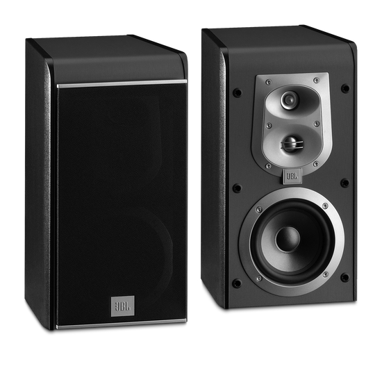 ES 20 - Black - 3-Way, 5 inch (130mm) Bookshelf Speaker - Hero