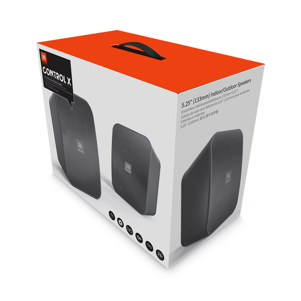 JBL Control X - What's in the Box