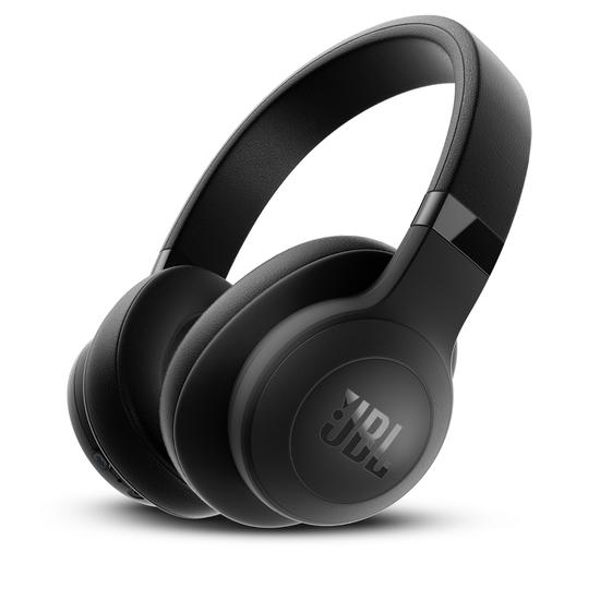JBL E500BT - Black - Wireless over-ear headphones - Hero
