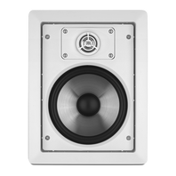 SOUNDPOINT SP 8 II - Black - 2-Way 8 inch In-Wall Speaker - Hero