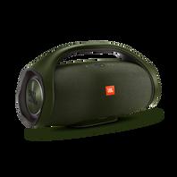 JBL Boombox - forest green - Portable Bluetooth Speaker - Hero