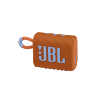 JBL GO 3 - Orange - Portable Waterproof Speaker - Hero