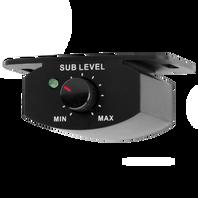 GTO-RBC - Black - Remote Volume Control for GTO-EZ Series Subwoofers - Hero