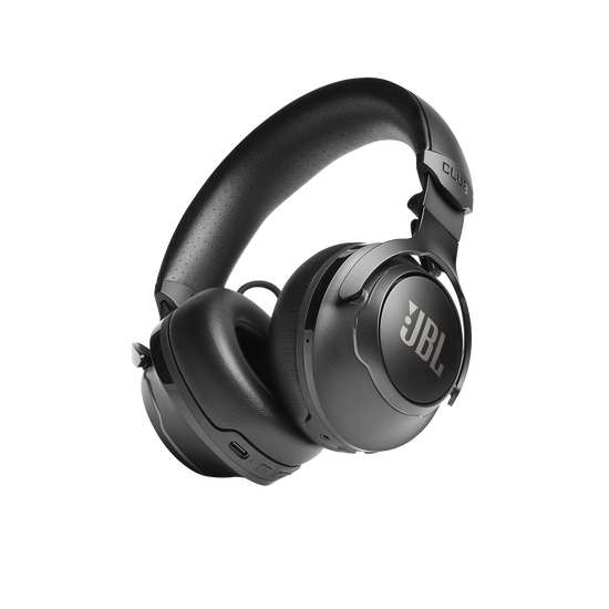 JBL CLUB 700BT - Black - Wireless on-ear headphones - Hero