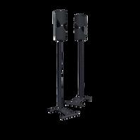 CinemaStand - Black - Floorstands for Cinema 300 & 500 - Hero