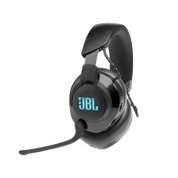 JBL Quantum 600 - Black - Wireless over-ear performance gaming headset with surround sound and game-chat balance dial - Hero