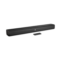 JBL Bar Studio - Black - 2.0 - Channel Soundbar with Bluetooth - Hero