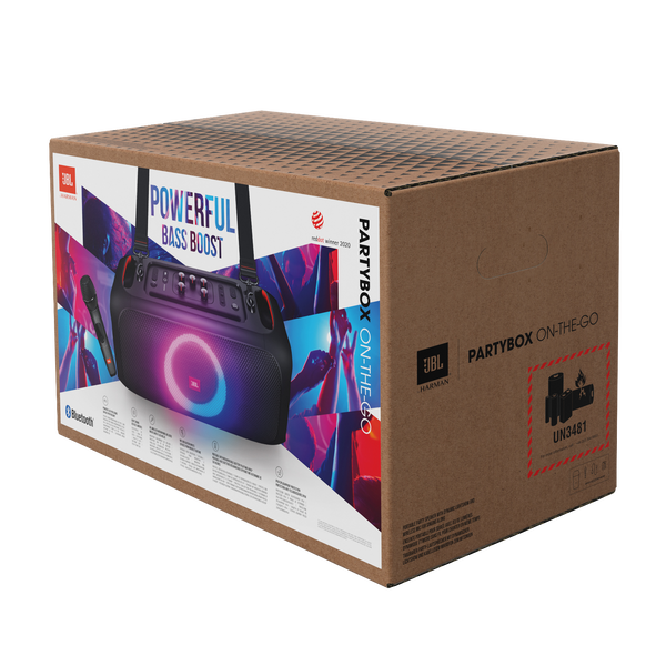 JBL PartyBox On-The-Go - What's in the Box