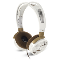 Tim McGraw On Ear Headphones - Gold/White - High-performance On-Ear Headphones designed by Tim McGraw - Hero