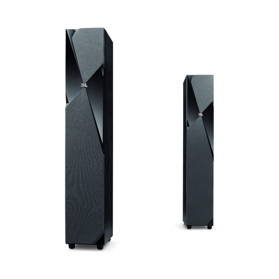 Studio 190 - Black - Wide-range 400-watt 3-way Floorstanding Speaker - Hero
