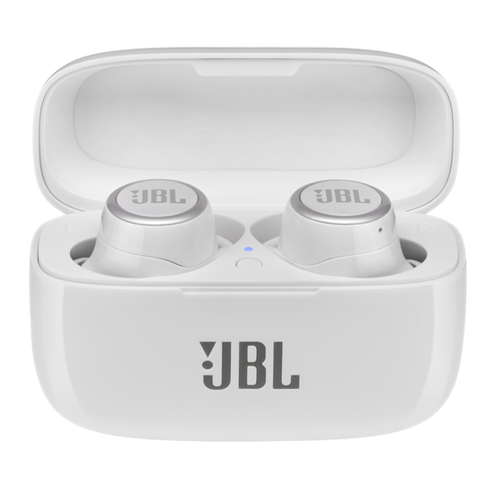 JBL Live 300TWS - White Gloss - True wireless earbuds - Hero