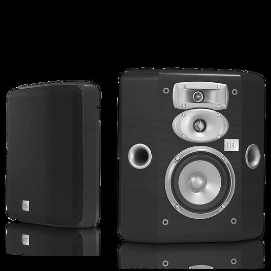STUDIO L810 - Black - 3-Way 5-1/4 inch (130mm) Bookshelf/Wall-Mount Satellite Speaker - Hero