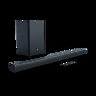 JBL Bar 2.1 - Black - 2.1-Channel Soundbar with Wireless Subwoofer - Hero