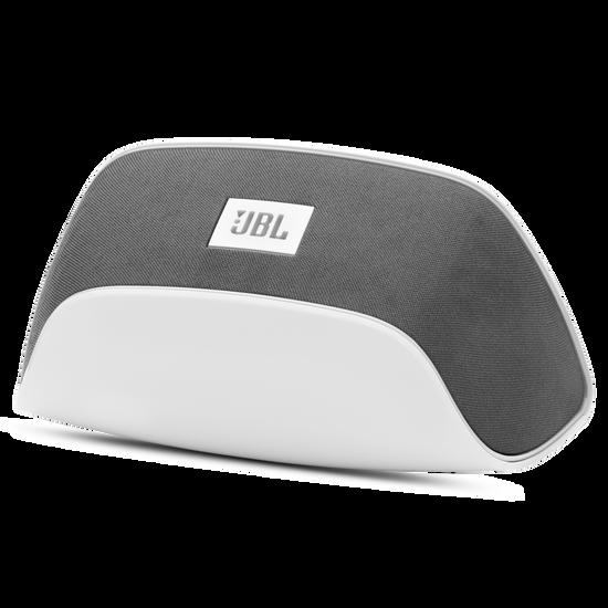 JBL SoundFly BT - White - Bluetooth Plug-in Speaker - Hero