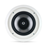SOUNDPOINT SP 8C II - White - 2-Way 8 inch In-Ceiling Speaker - Hero